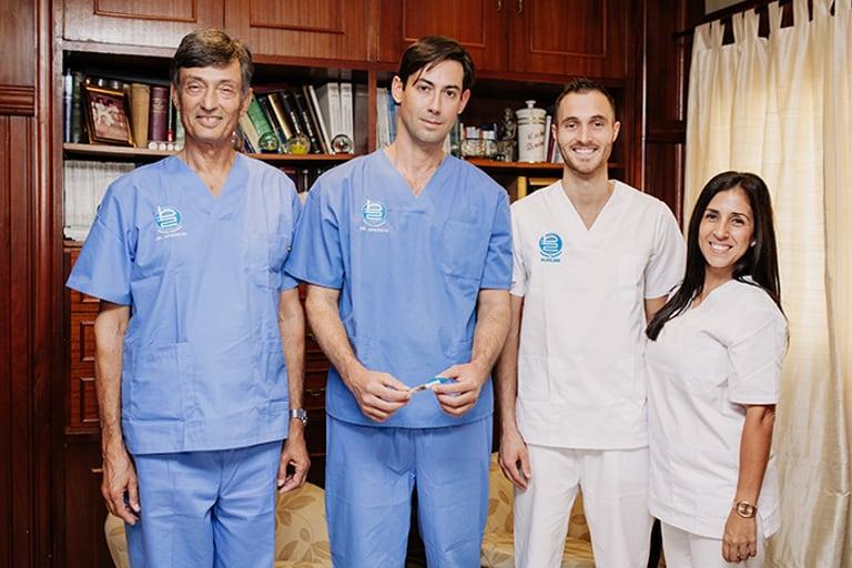 equipo medico clinica aparicio